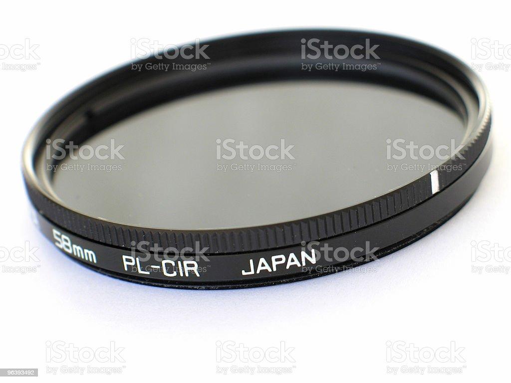 Circular Polarizer stock photo