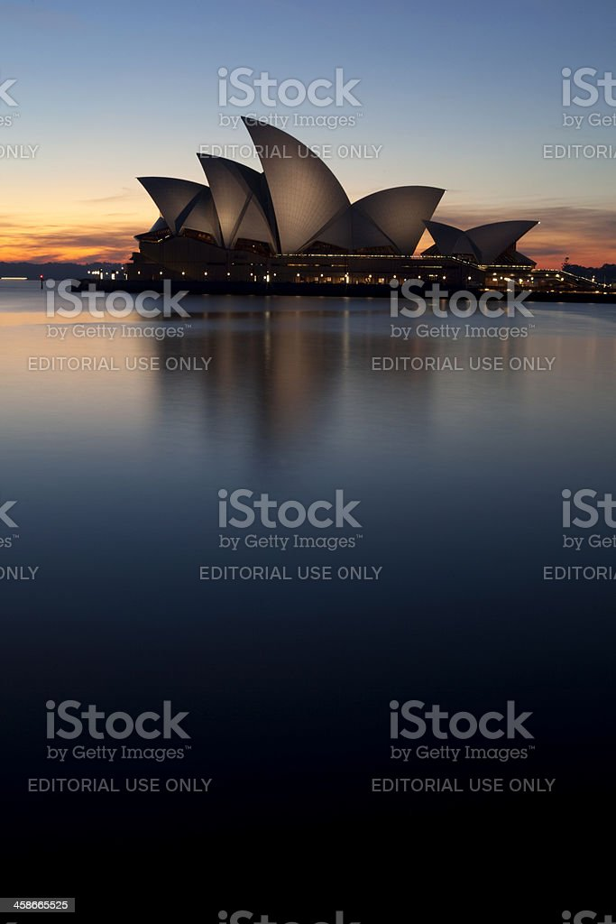Circular Quay And Sydney Opera House royalty-free stock photo