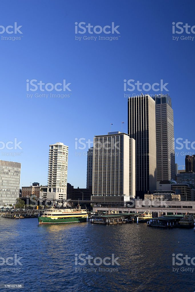 Circular Quay royalty-free stock photo