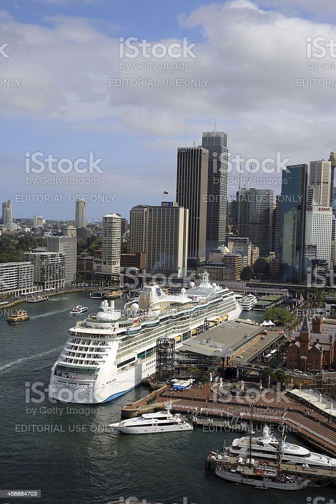 Circular Quay royalty-free stock photo