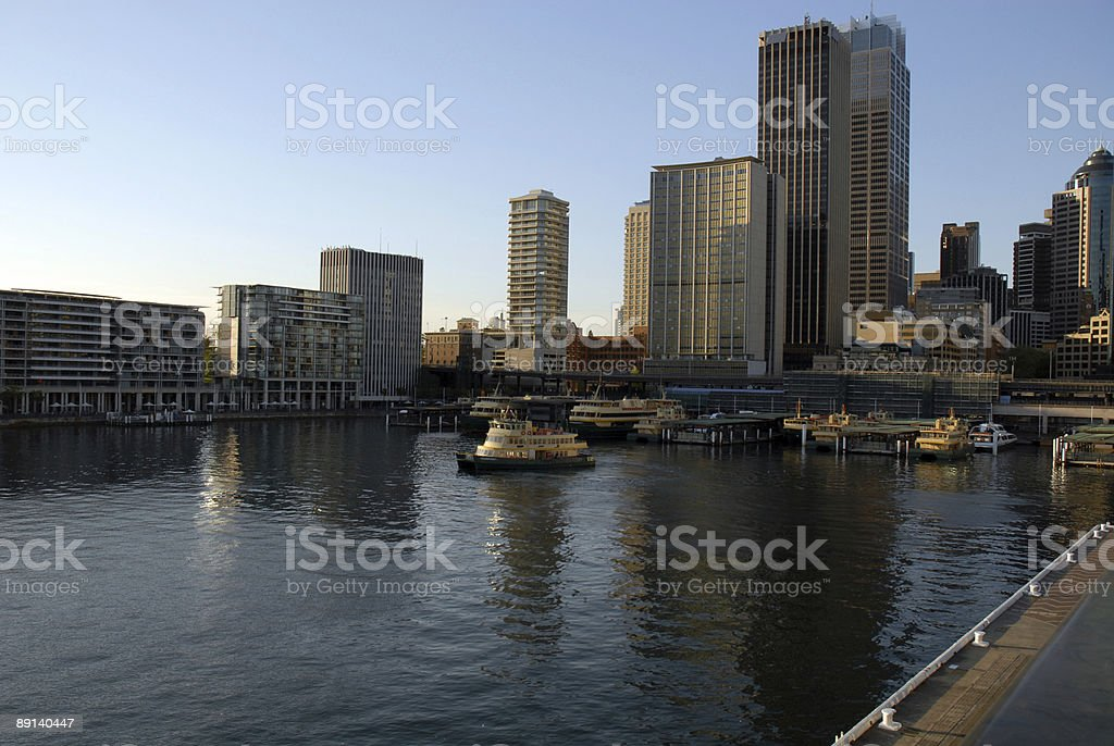 Circular Quay stock photo