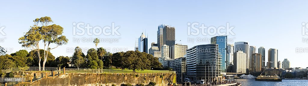 Circular Quay, Sydney, Australia royalty-free stock photo