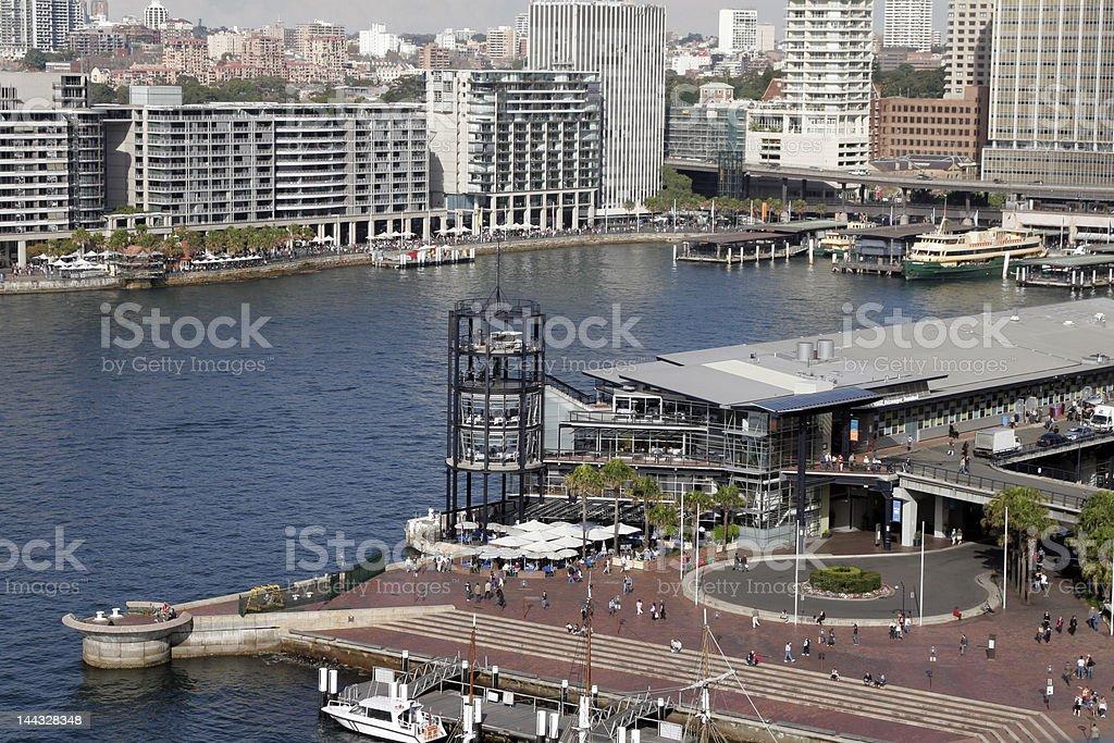 Circular Quay, Sydney royalty-free stock photo