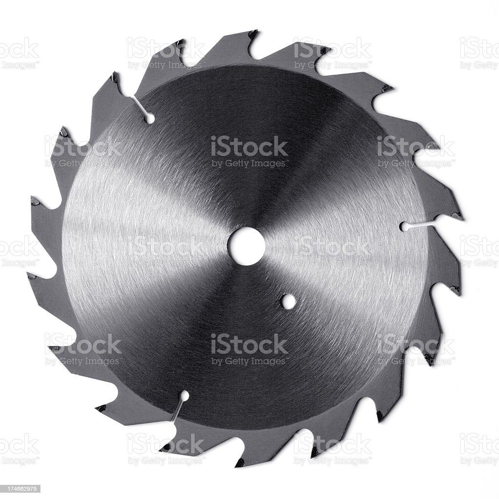 Circular Saw Blade royalty-free stock photo