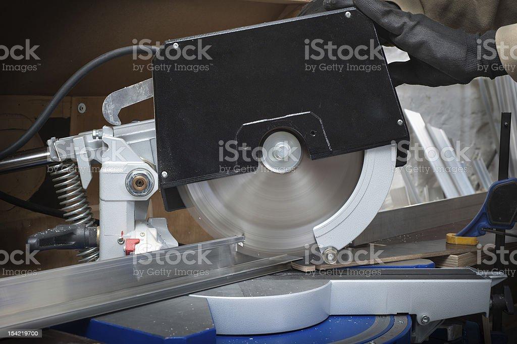 circular saw royalty-free stock photo