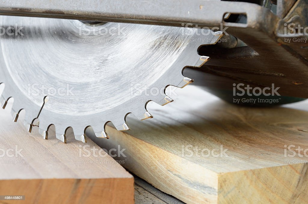 circular saw stock photo