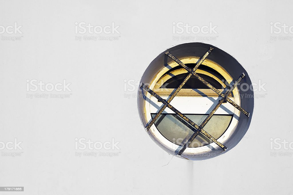 circular window royalty-free stock photo