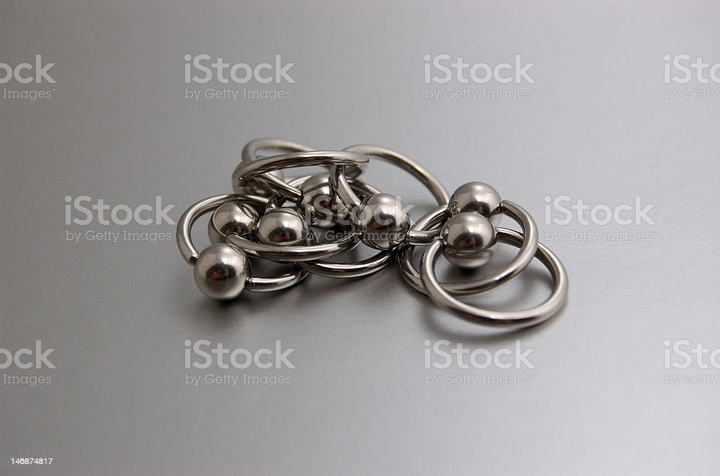 Circulars for piercing royalty-free stock photo