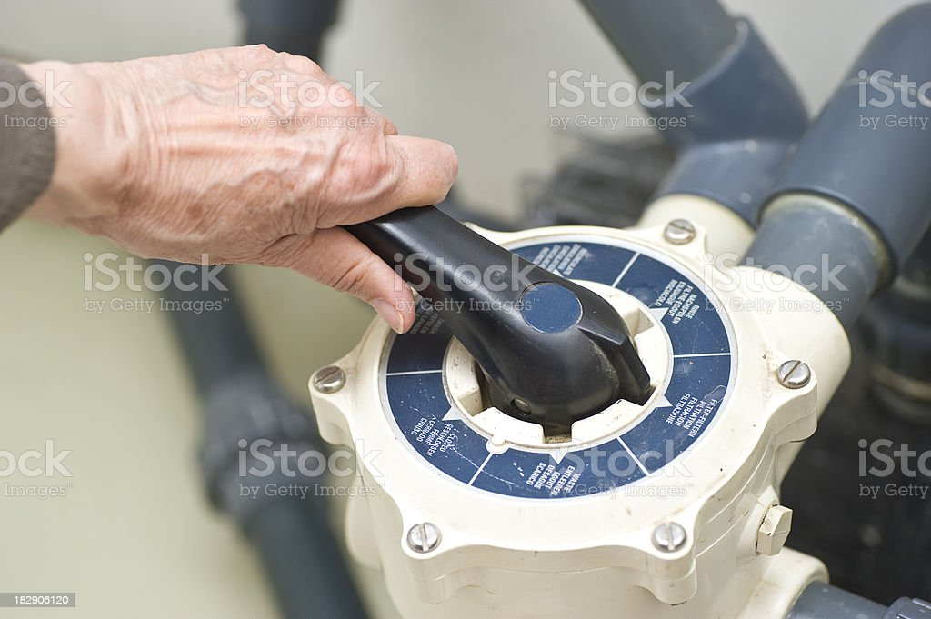 circulating  pump stock photo