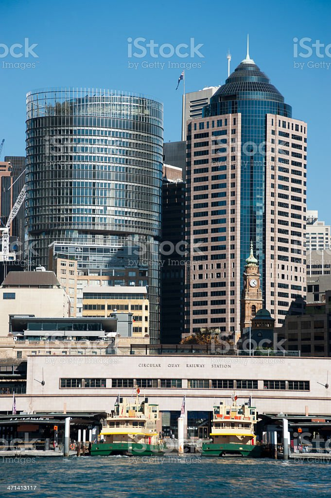 Circulatr Quay, Sydney royalty-free stock photo