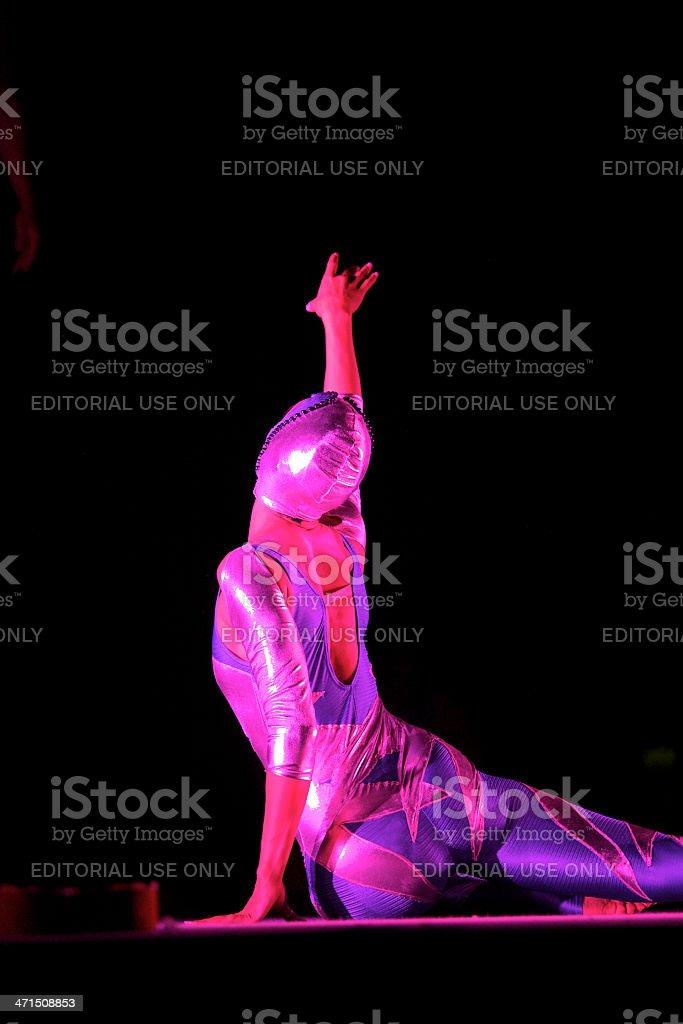 Circus Artist royalty-free stock photo