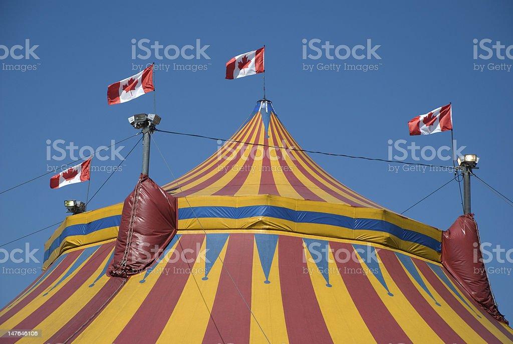 Circus Big Top - Horizontal royalty-free stock photo