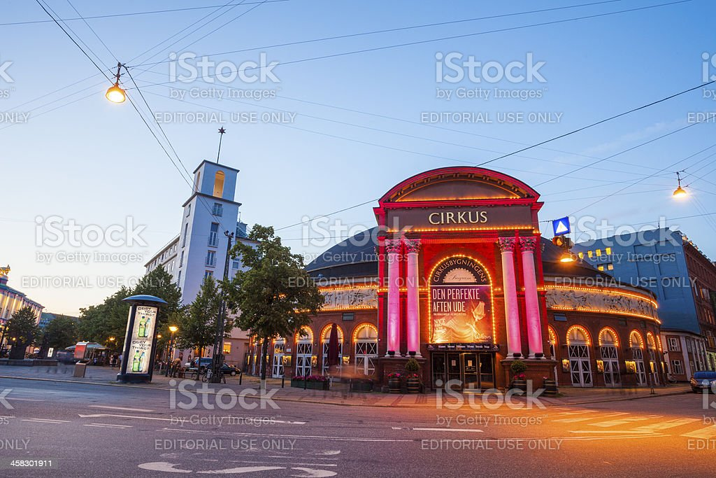 Circus Building, Copenhagen royalty-free stock photo