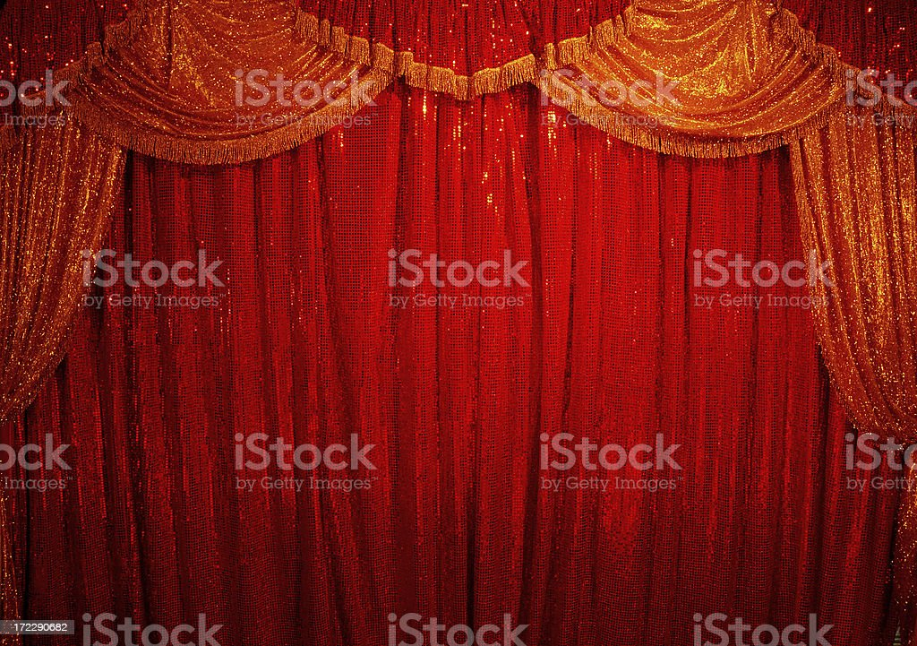 circus curtain royalty-free stock photo