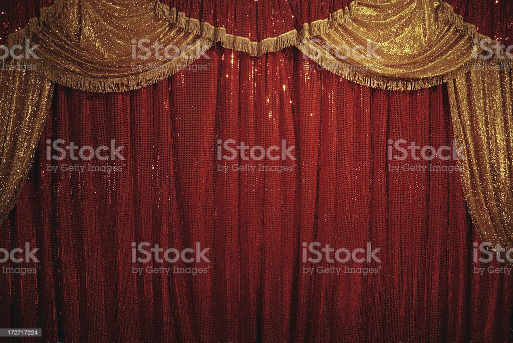 circus curtain royalty-free stock photo
