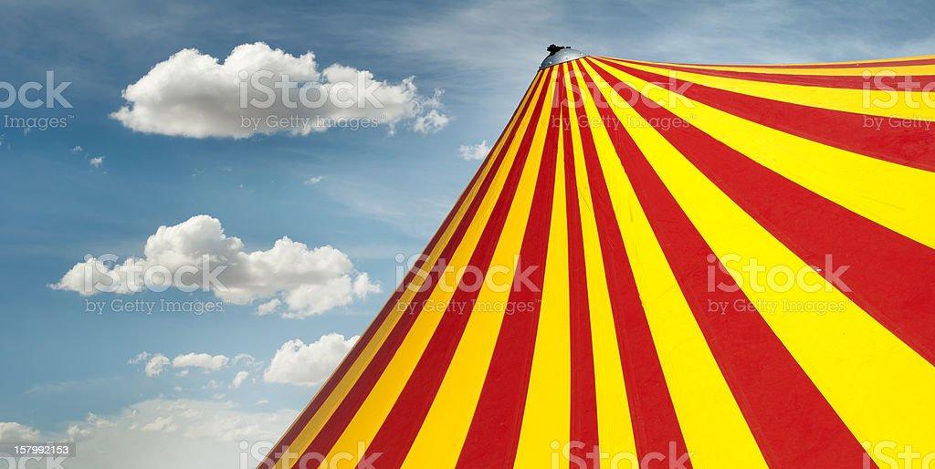 Circus dome stock photo