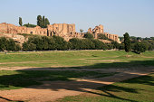 'Circus maximus and The Palatine Hill in Rome, Italy'