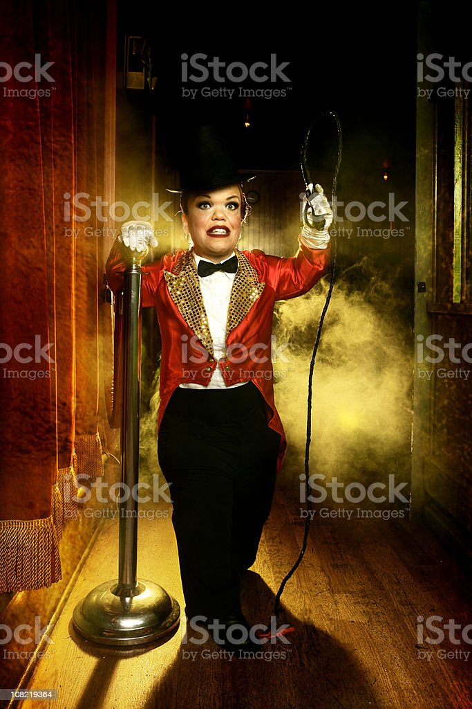 Circus Performer stock photo