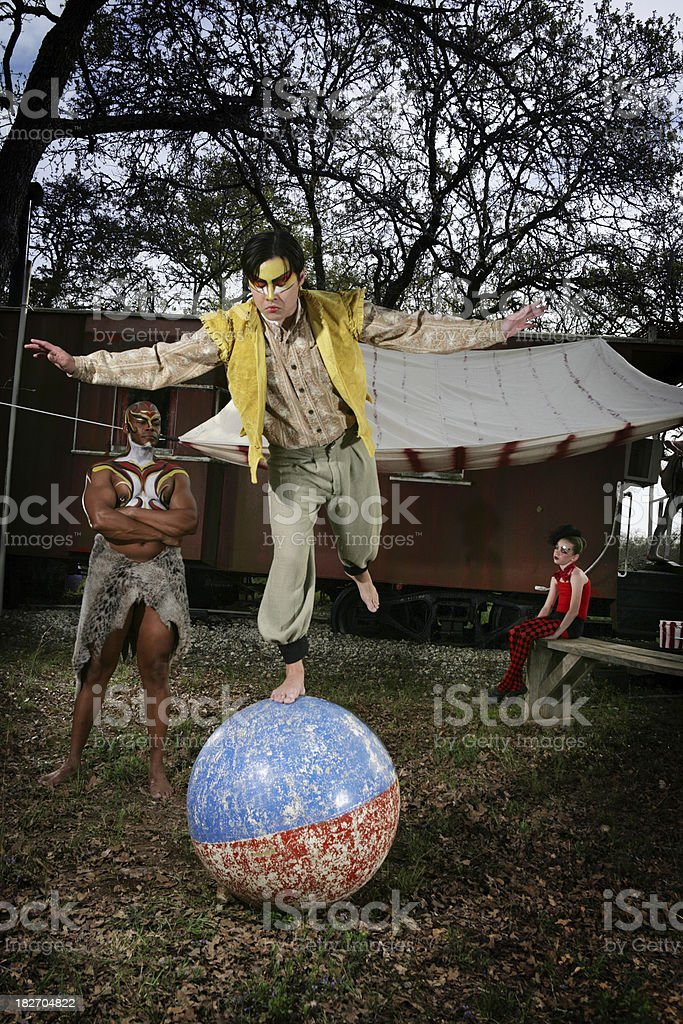 Circus Performers royalty-free stock photo