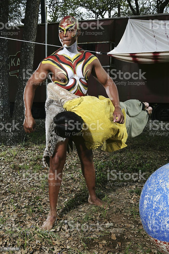 Circus Performers stock photo