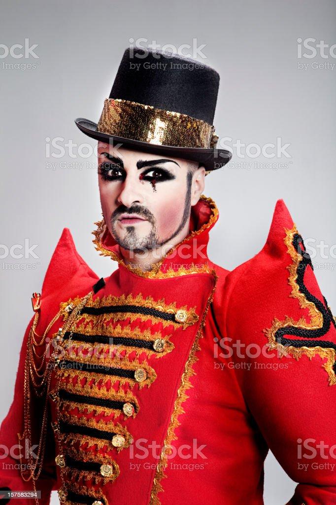 Circus Portrait stock photo