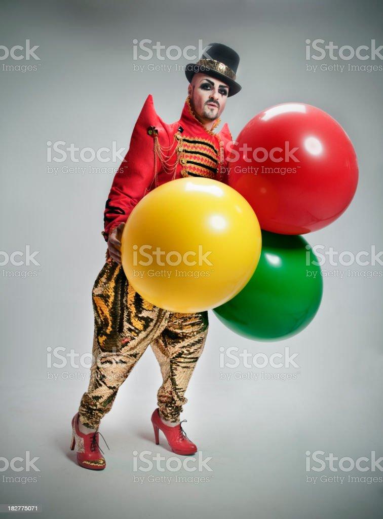 Circus Portrait royalty-free stock photo