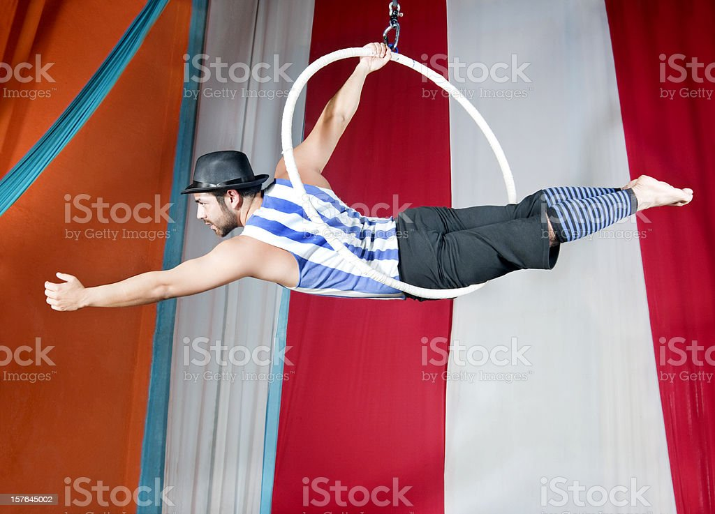 circus ring stock photo