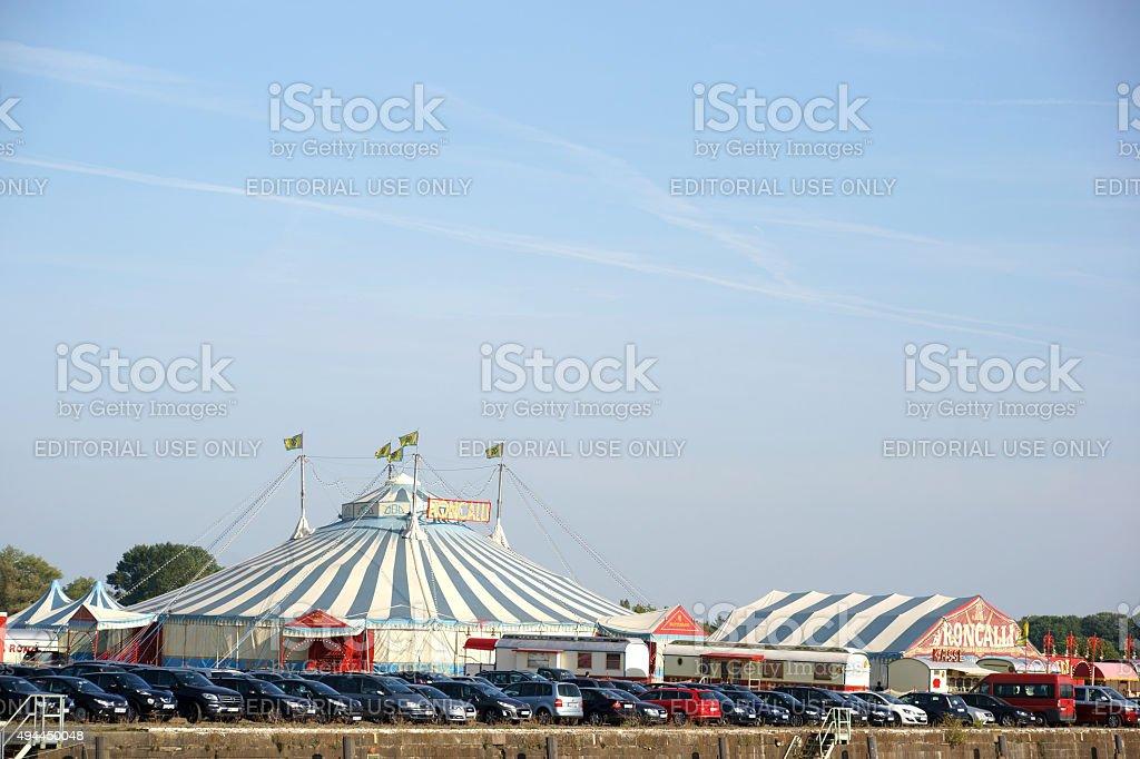 Circus Roncalli stock photo