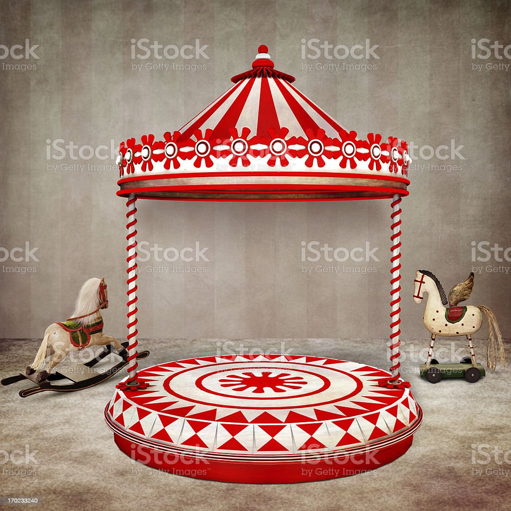 Circus stage royalty-free stock photo