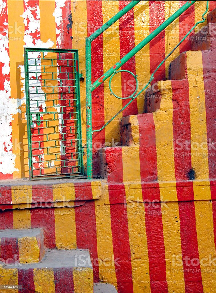 Circus Stairway royalty-free stock photo