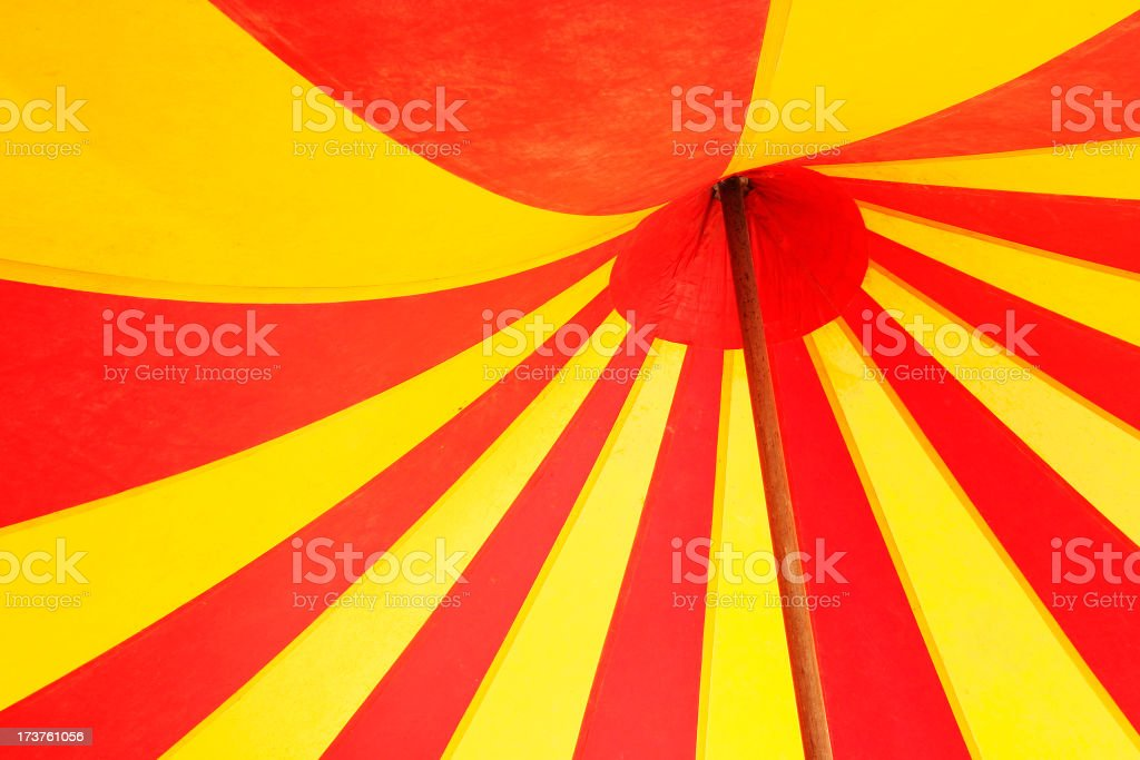 Circus Tent Abstract royalty-free stock photo