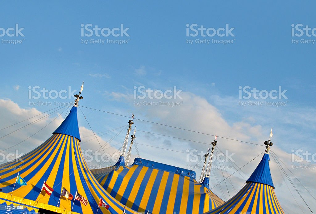 Circus tent royalty-free stock photo