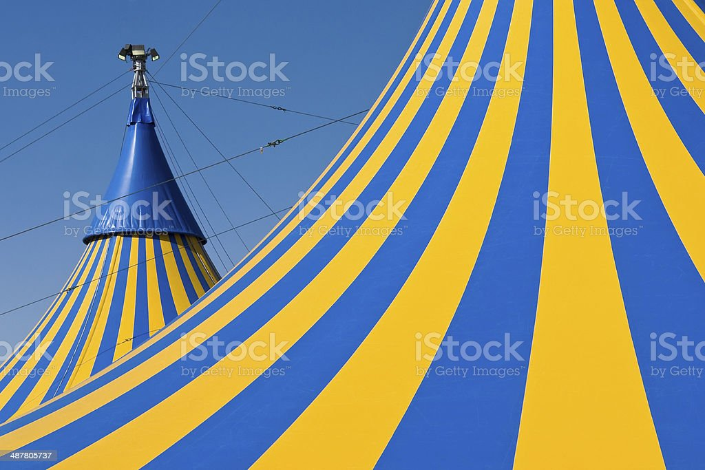 Circus tents royalty-free stock photo