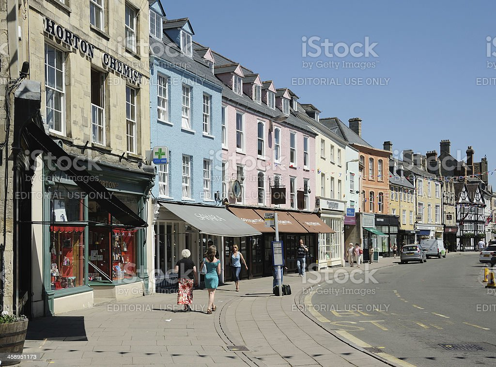 Cirencester Market Place stock photo
