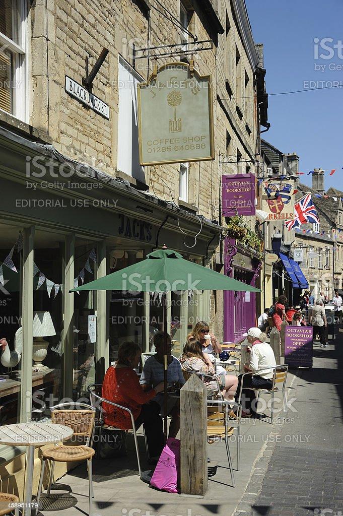 Cirencester Street stock photo