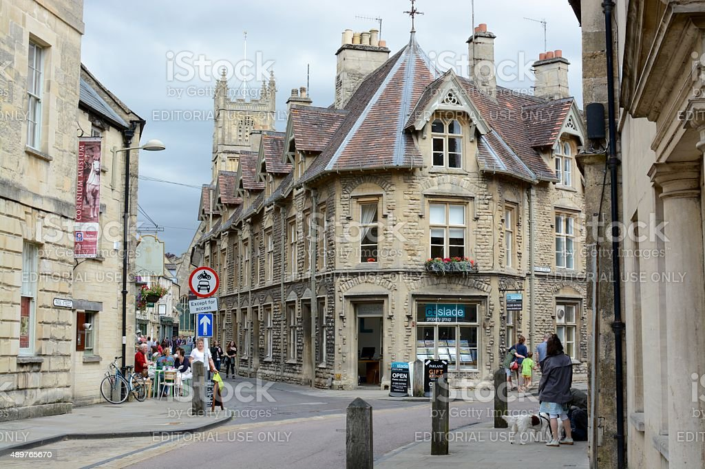 Cirencester Town stock photo