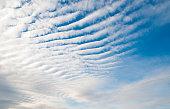 Cirrocumulus clouds