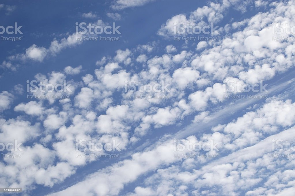 Cirrocumulus Clouds royalty-free stock photo