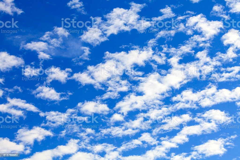 Cirrocumulus stock photo