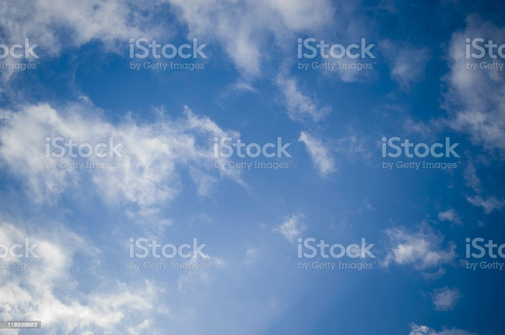 CirroStratus clouds royalty-free stock photo