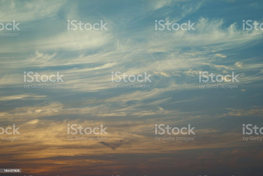 cirrus cloud royalty-free stock photo