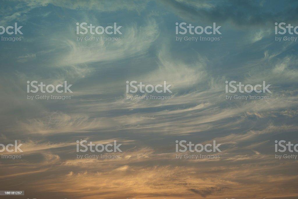 cirrus cloud royalty-free stock photo