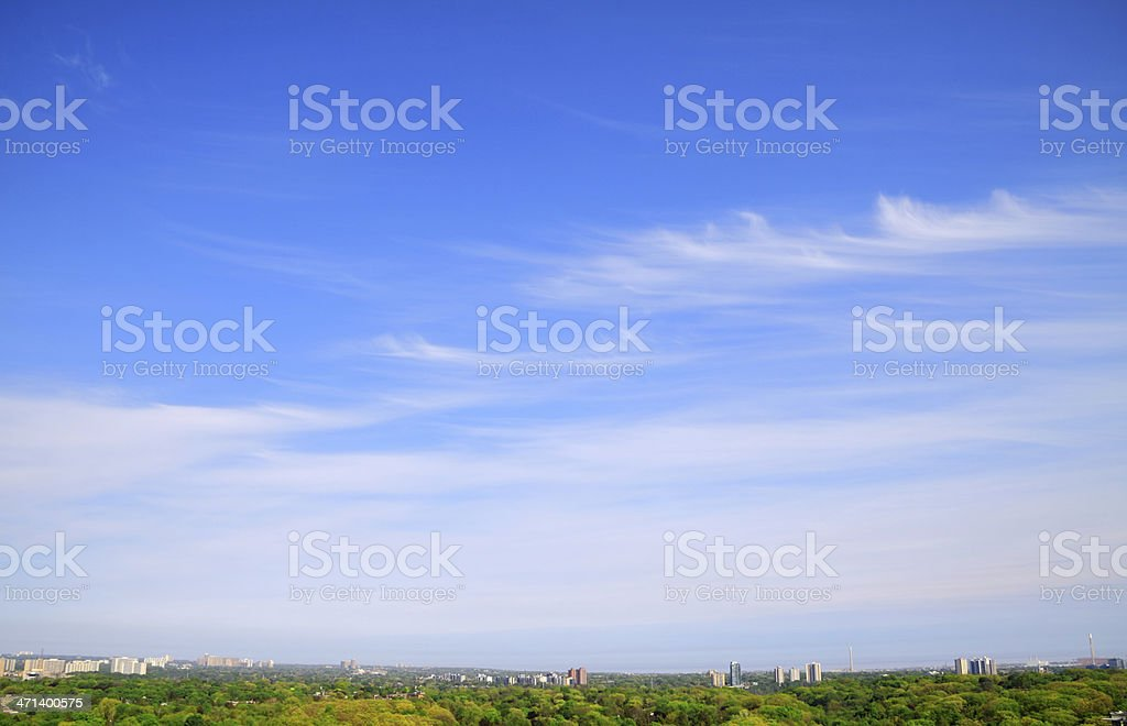 Cirrus Cloud stock photo