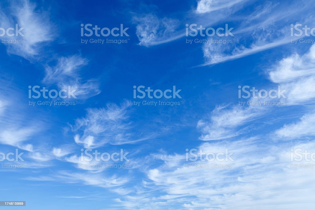 Cirrus Clouds royalty-free stock photo