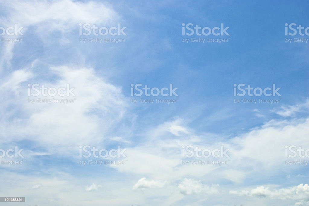 Cirrus Cloudscapes stock photo