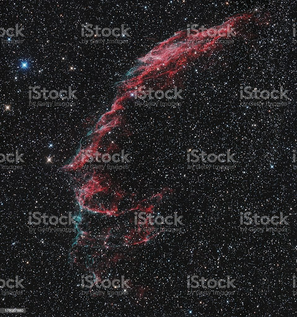 Cirrus Nebula royalty-free stock photo