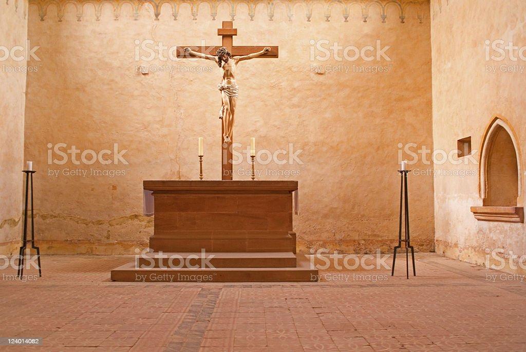 シトー修道会様式の修道院 ロイヤリティフリーストックフォト