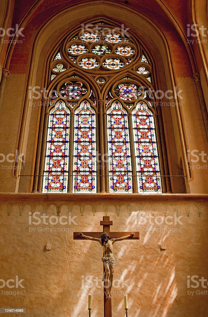 Cistercian Monastery royalty-free stock photo