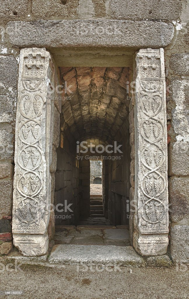 Cistern entrance royalty-free stock photo