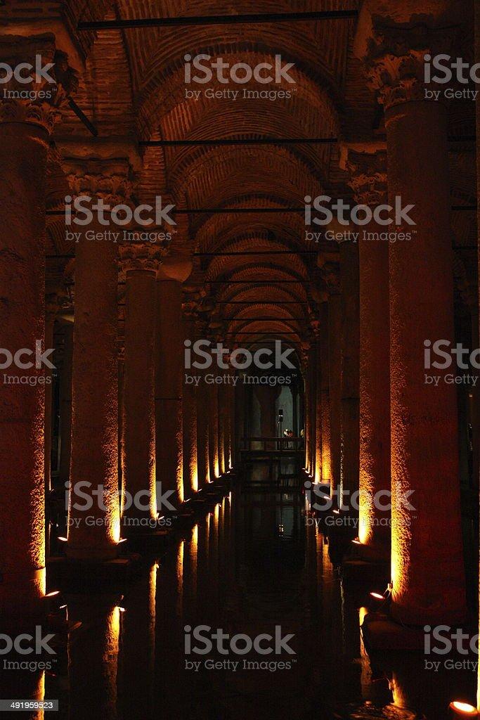 Cisterna Basilika stock photo
